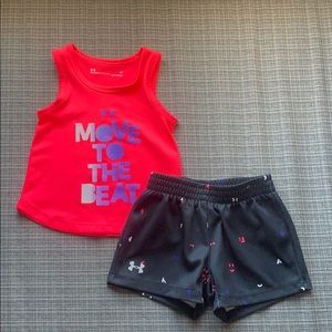 Under Armour 24 month 2 piece outfit